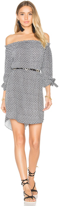 Seafolly Geo Print Off Shoulder Dress $162 thestylecure.com