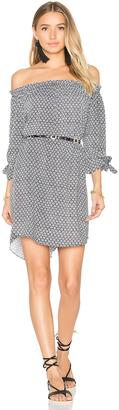 Seafolly Geo Print Off Shoulder Dress $162 thestylecure.com