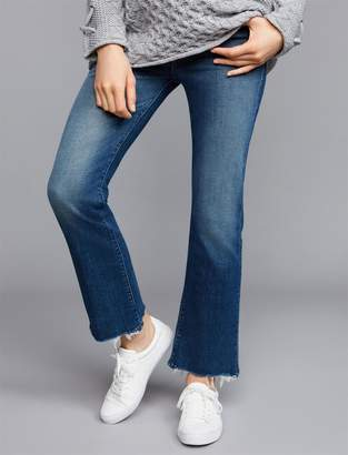 Mother Secret Fit Belly Hustler Ankle Chew Maternity Jeans
