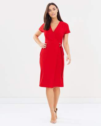 Dorothy Perkins D-Ring Wrap Dress