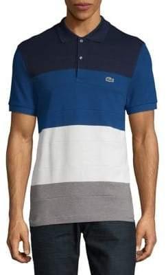Lacoste Colourblocked Short Sleeve Polo