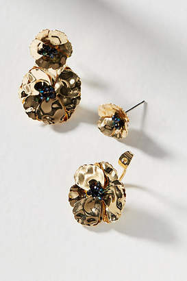 Anthropologie May Flowers Front-Back Earrings udHPHtMpYp