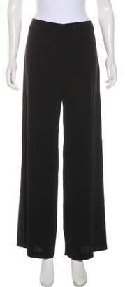 Trina Turk Mid-Rise Wide Pants