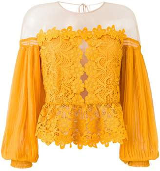 Three floor Mellow lace top