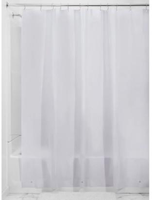 "InterDesign PEVA 3 Gauge Shower Curtain Liner 72"" x 72"", Frost"