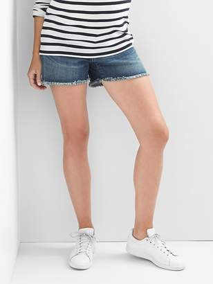 Gap Maternity inset panel summer shorts