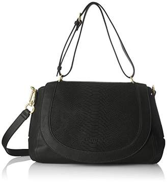 Liebeskind Berlin Women's Dinard Lasercut Leather Snakeskin Satchel