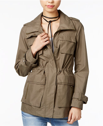 Madden Girl Hooded Anorak $79.50 thestylecure.com