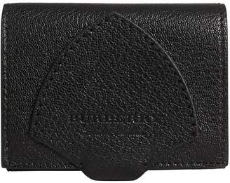 Burberry Equestrian Shield Leather Continental Wallet