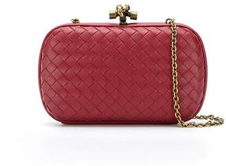 Bottega Veneta Chain Knot clutch bag