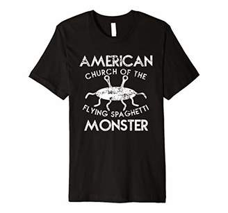 Church's American Of The Flying Spaghetti Monster Gift T Shirt