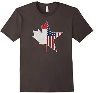 Team North America | USA Canada Connection T Shirt