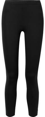 James Perse Stretch-scuba Leggings - Black