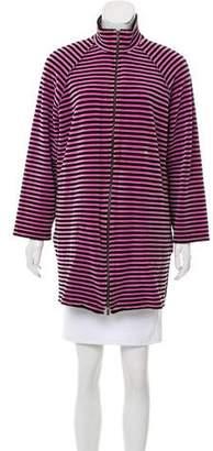 Sonia Rykiel Striped Velvet Sweater