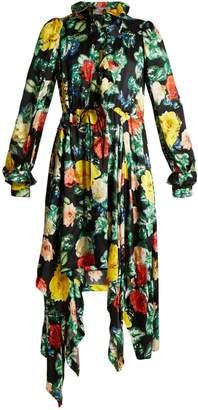 Preen by Thornton Bregazzi Arabella floral-print silk-satin dress