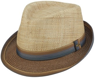 Scala Men's Classico Paper Braided Fedora