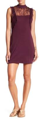 Free People Beaumont Muse Lace Trim Dress