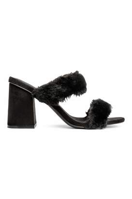 H&M Mules - Black - Women