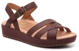 Vionic Violet Wedge Sandal