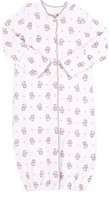 Barneys New York Infants' Lion-Print Convertible Gown - Pink