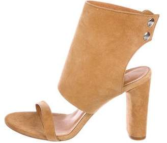 IRO Suede Ankle-Strap Sandals