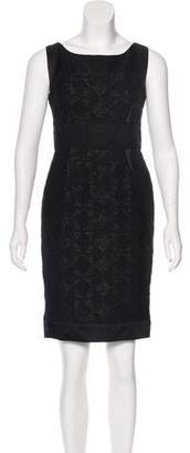 J. Mendel Sleeveless Bouclé Dress