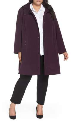 Gallery Hooded A-Line Raincoat
