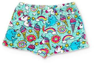 Candy Pink Girls' Sprinkles & Unicorns Pajama Shorts - Little Kid, Big Kid
