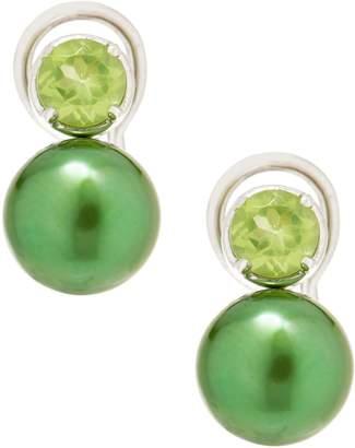 Honora Cultured Pearl and Gemstone Earrings