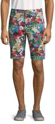 Robert Graham Habana Floral-Print Shorts
