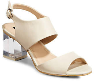 DKNY Sterling Leather Sandals