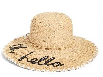 Kate SpadeWomen's Kate Spade New York Oh Hello Sun Hat - Beige