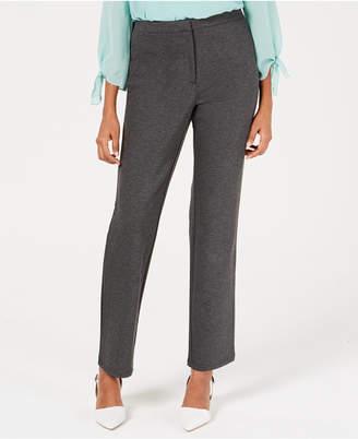 JM Collection Petite Straight-Leg Pants