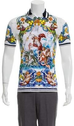 Dolce & Gabbana Majolica Polo Shirt