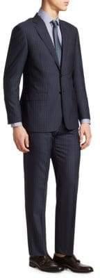Giorgio Armani Striped Wool Suit