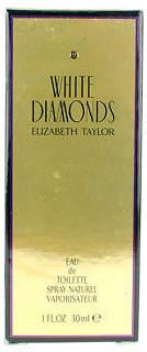 Elizabeth Taylor NEW Ladies Fragrance White Diamonds EDT Spray 30ml/1oz