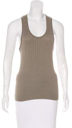 Stella McCartney Cashmere Sleeveless Knit Top