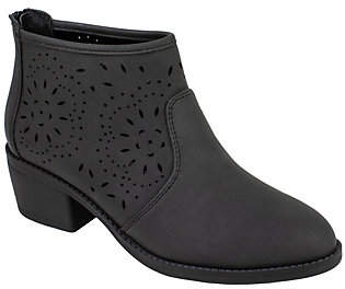 Seven Dials Ankle Booties - Yuna