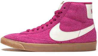 Nike Womens Blazer Mid Suede VNTG Sport Fuchsia/Sail
