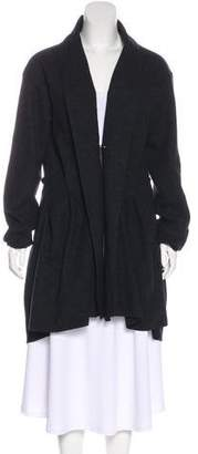 Lanvin Wool Pleated Coat