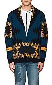 ALANUI Men's Cashmere Cardigan - Blue