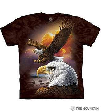 The Mountain Men's Eagle and Clouds T-Shirt