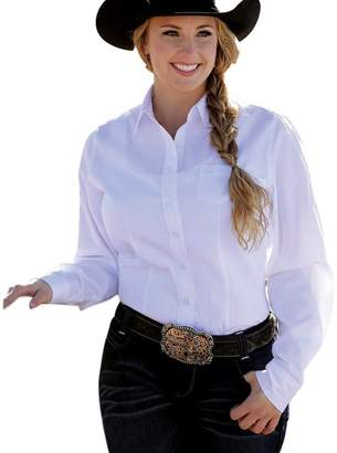 Cinch Western Shirt Womens L/S Weave Pocket Button S MSW9164026