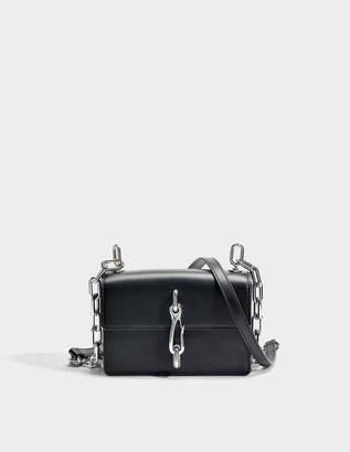 Alexander Wang Hook Small Crossbody Bag in Black Calfskin