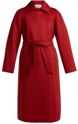 Max Mara Manuela Coat - Womens - Red