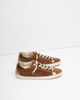 Golden Goose Superstar Bespoke Sneakers $555 thestylecure.com