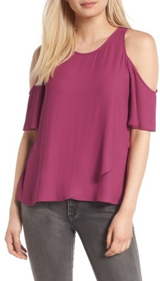 Women's Lush Cold Shoulder Top $45 thestylecure.com