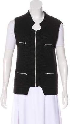 Autumn Cashmere Sleeveless Knit Cardigan