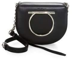 Salvatore Ferragamo Flap Leather Crossbody Bag