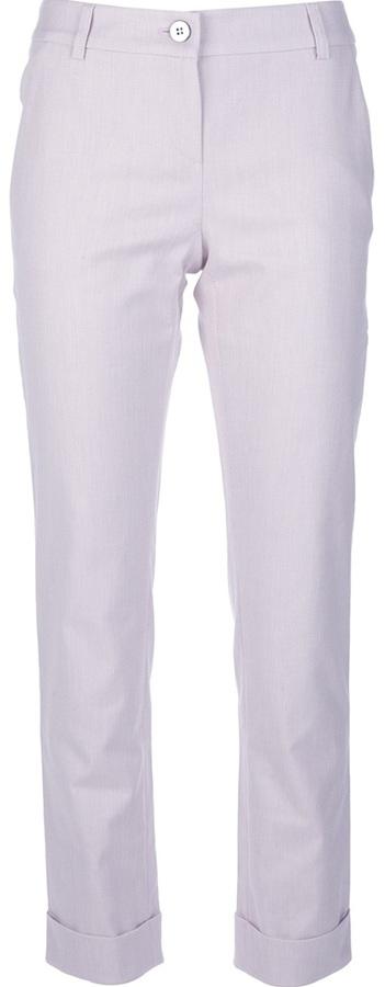 Emporio Armani cropped trouser